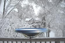 BIRDS CHOICE HEATED BIRD BATH - DECK MOUNTED