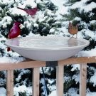Deck Mount 150 heated birdbath