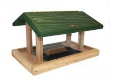 6 QT Four-Sided Green Roof Hopper