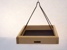 Hanging Tray with Collapsible Powder-Coated Steel Rods