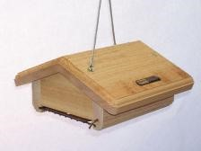 Cedar Upside Down 1 Cake Suet Feeder
