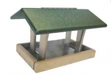 Recycled 3 QT Four Sided Hopper Feeder