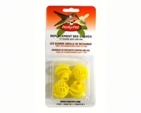 79 Perky-Pet Replacement Yellow Bee Guards.