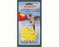 Perky-Pet Replacement Yellow Feeder Flowers 9 Pack